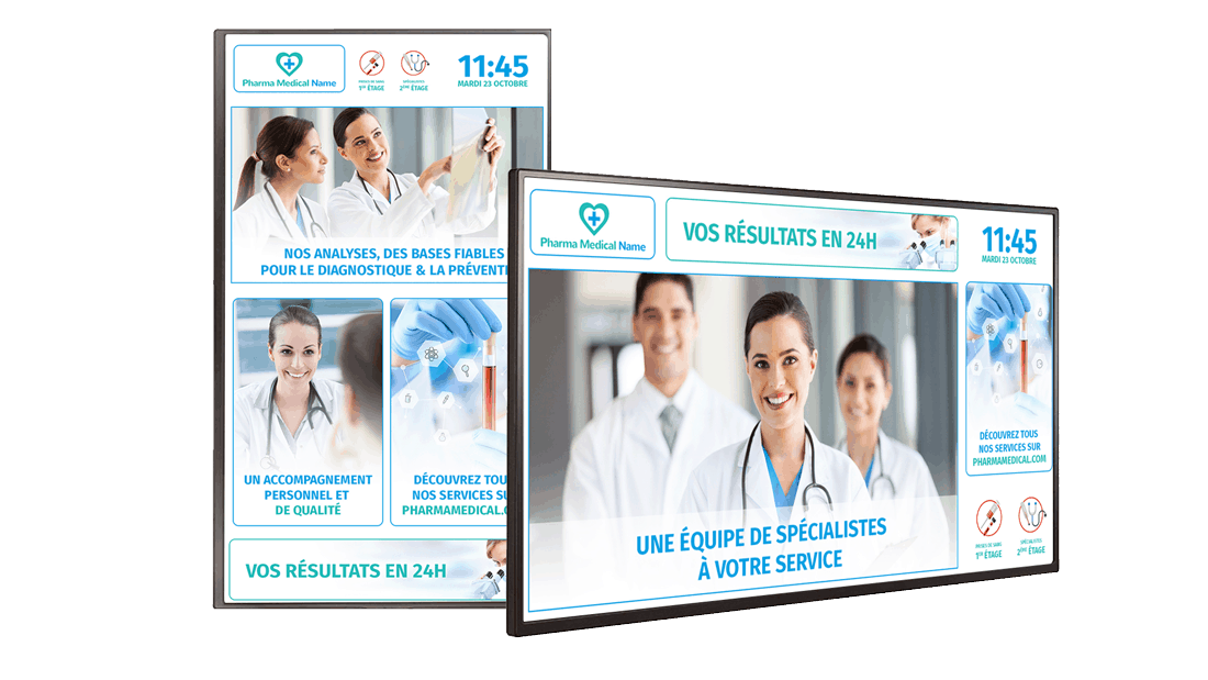 Template-free-digital-signage-cms