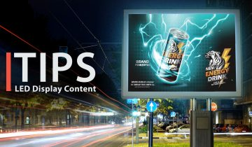 How to create content for LED displays in 13 easy steps.