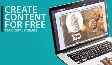 How to create content for digital signage for free – Tutorial (Video)