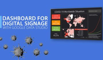 How to use dashboards for digital signage