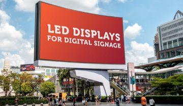 LED Displays for Digital Signage